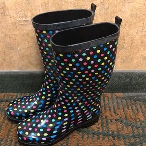 Shoes - Women's Rubber Rain and Mud Boots